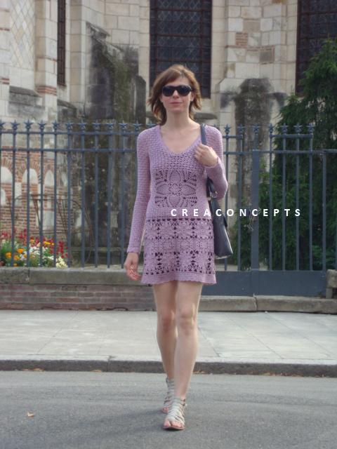 Crochet DRESS Odd Molly1