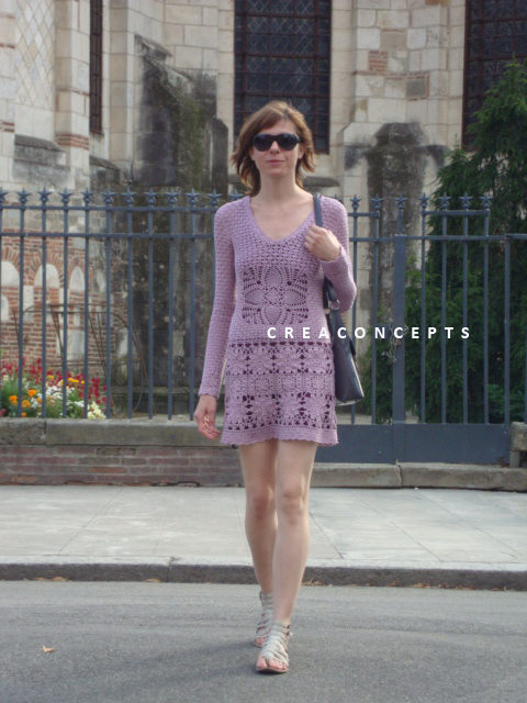 Crochet DRESS Odd Molly 1