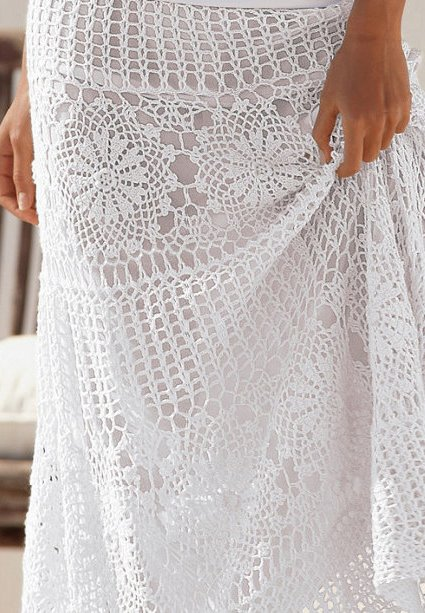 Maxi skirt PATTERN – crochettrends