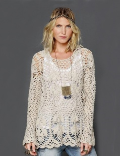 Atmosphere - boho tunic with pineapples