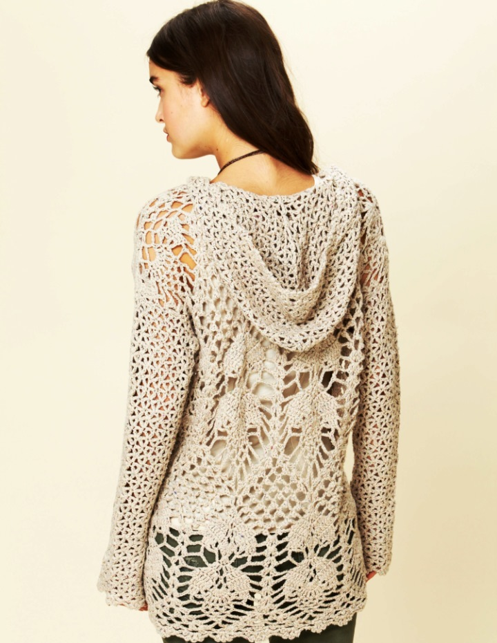 Crochet tunic PATTERN (scroll down the page) - Crochet trends (2/3)