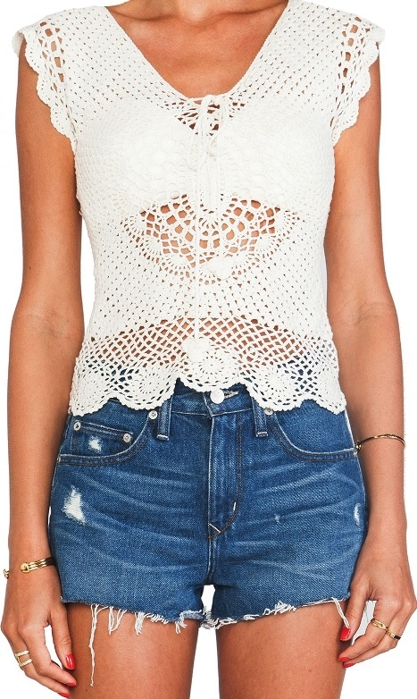 Designer crochet top – PATTERN