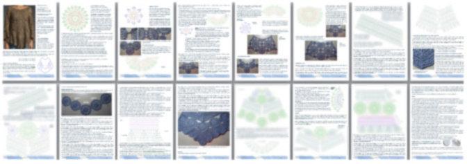 Crochet tunic PATTERN - Crochet trends (5/6)