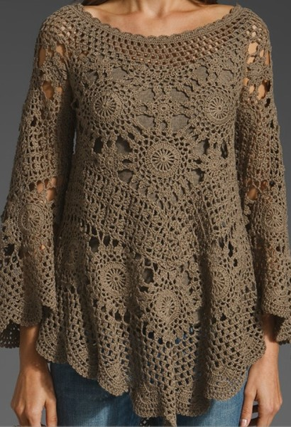 Crochet tunic PATTERN – crochet trends