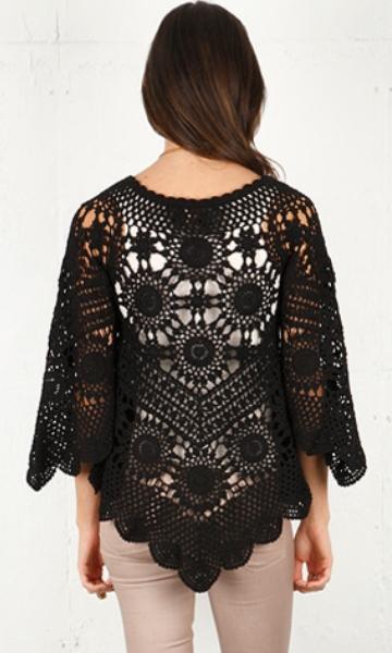 Crochet tunic PATTERN - Crochet trends (2/6)
