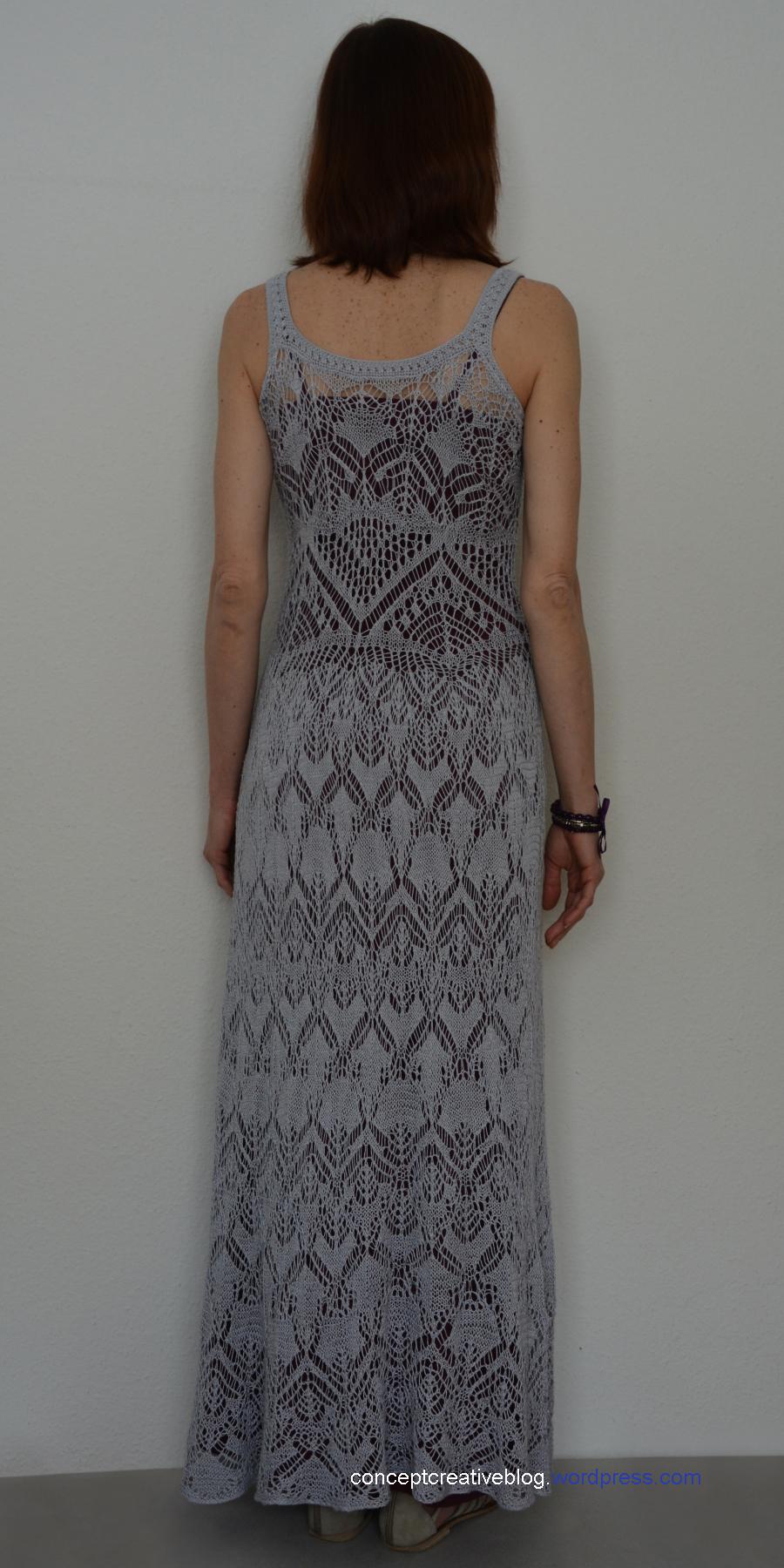 Knitting Summer Dress : Knit summer dress with free chart creativehandmadeconcepts