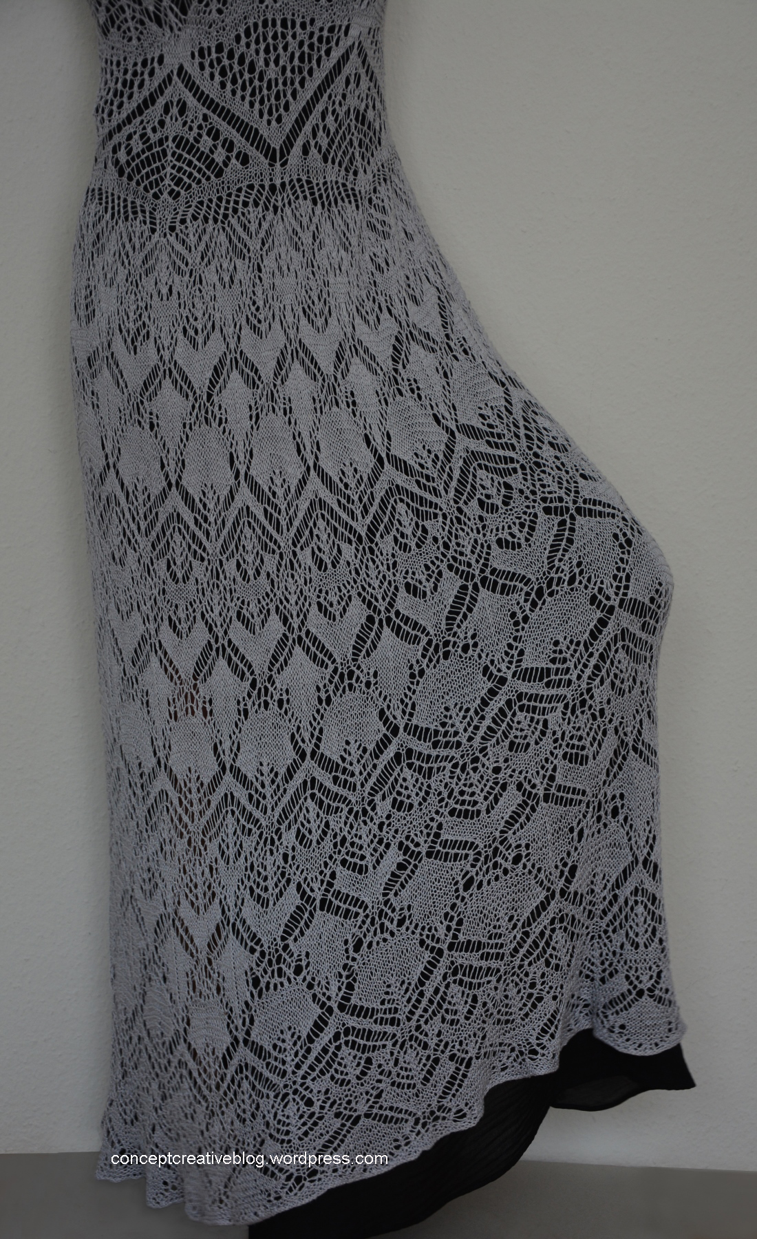 Shetland Lace Dress Pattern