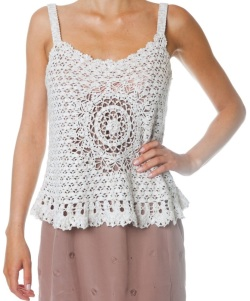 Designer crochet top PATTERN for sizes S-3XL detailed TUTORIAL for every row with HQ charts 19 arcs