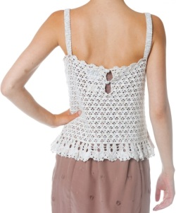 Designer crochet top PATTERN for sizes S-3XL detailed TUTORIAL for every row with HQ charts 19 arc2