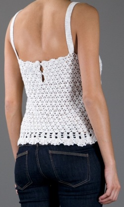 Designer crochet top PATTERN for sizes S-3XL detailed TUTORIAL for every row with HQ charts 21 arc2