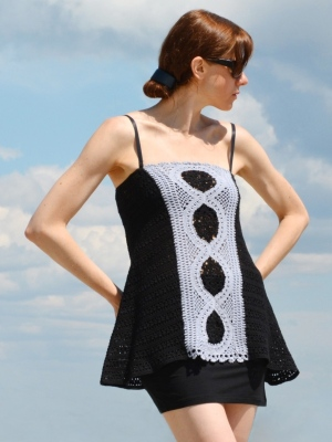 crochet pattern for sizes S-2XL