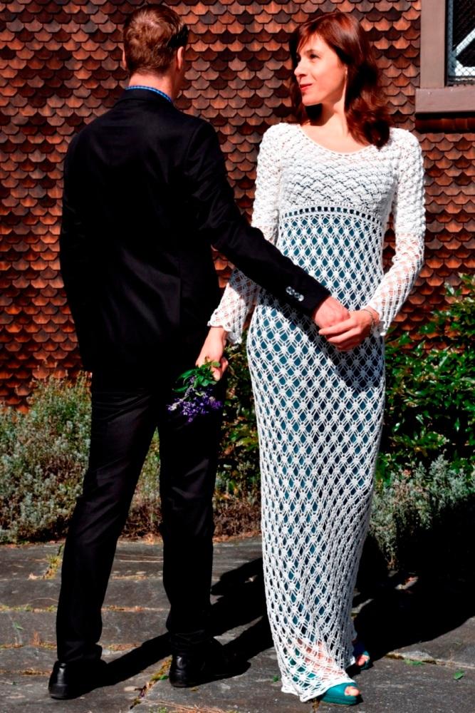 Maxi crochet wedding dress (PATTERN) (6/6)