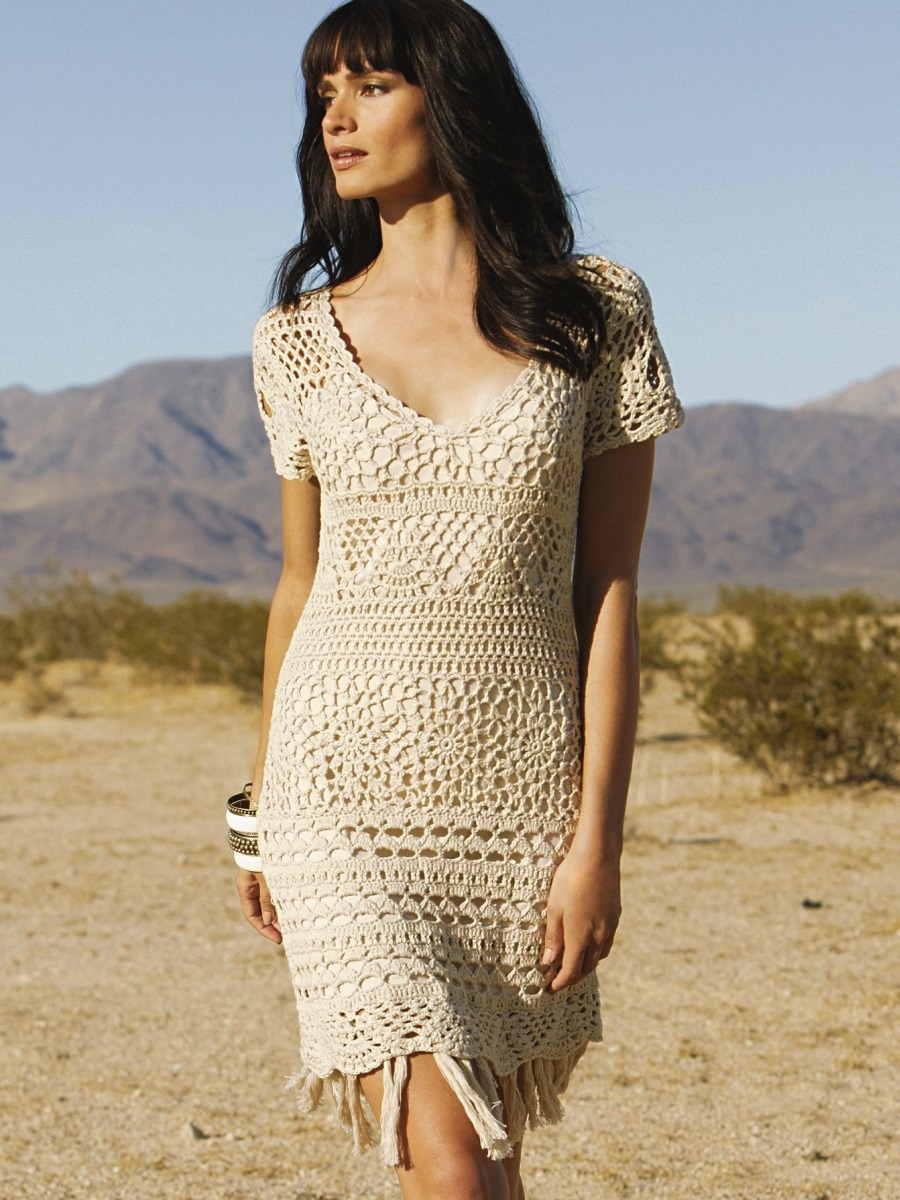 Crochet dress PATTERN – boho style