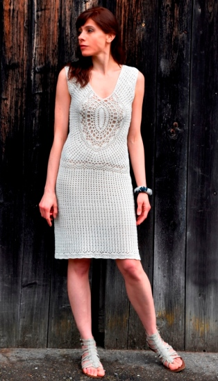 TIMELESS: Crochet Dress Pattern sizes S-L