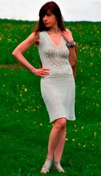 TIMELESS: Crochet Dress Pattern sizes S-L