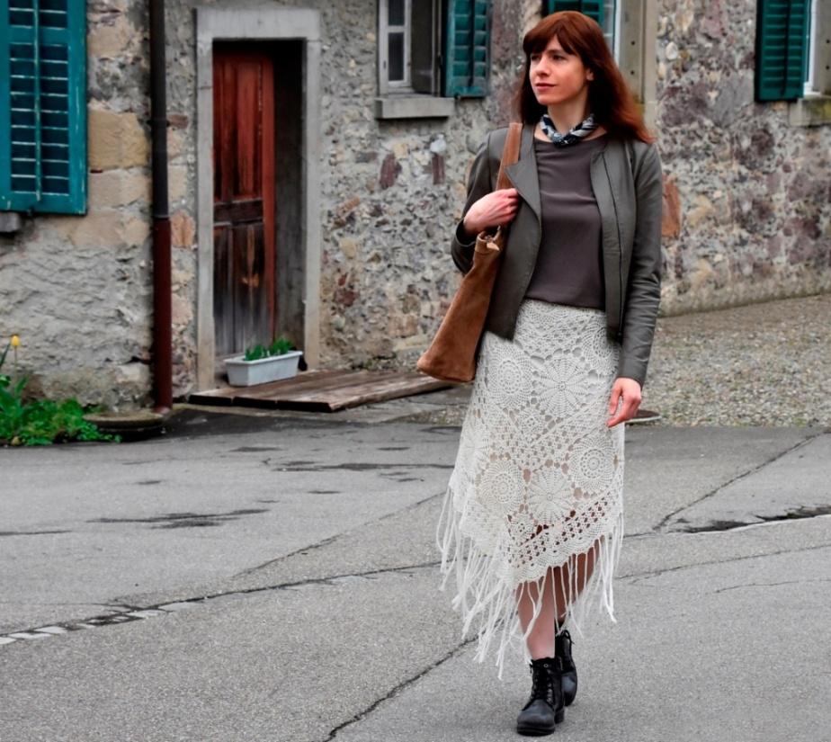 Crochet Boho Skirt –PATTERN