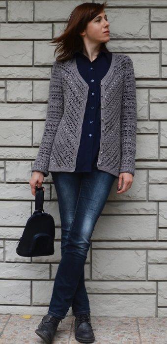 Diagonal jacket –PATTERN