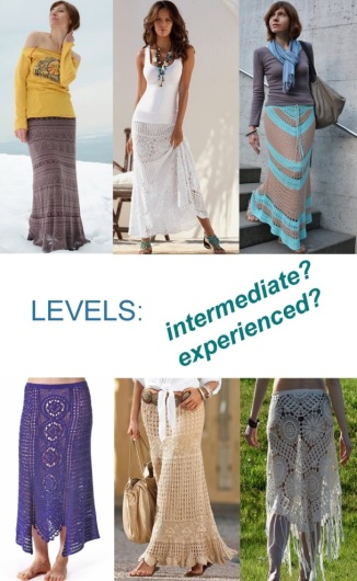 Defining LEVELS if you are about to crochet garments (by conceptcreativeblog.wordpress.com)