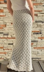 Easy crochet skirt PATTERN for sizes S-4XL