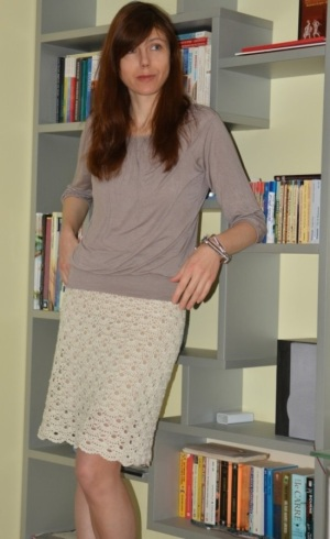 Easy crochet skirt PATTERN for sizes S-4XL