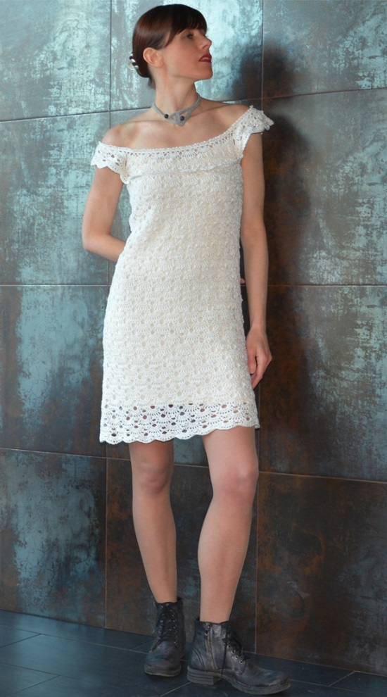 Off Shoulder Dress –PATTERN