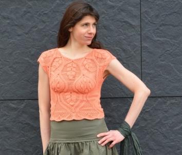 Top Crochet Pattern AILANTHUS