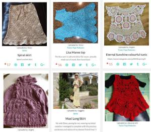 mycrochet.conceptcreative.store - projects finished by customers