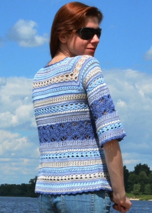Tunic for yarn leftovers – PATTERN