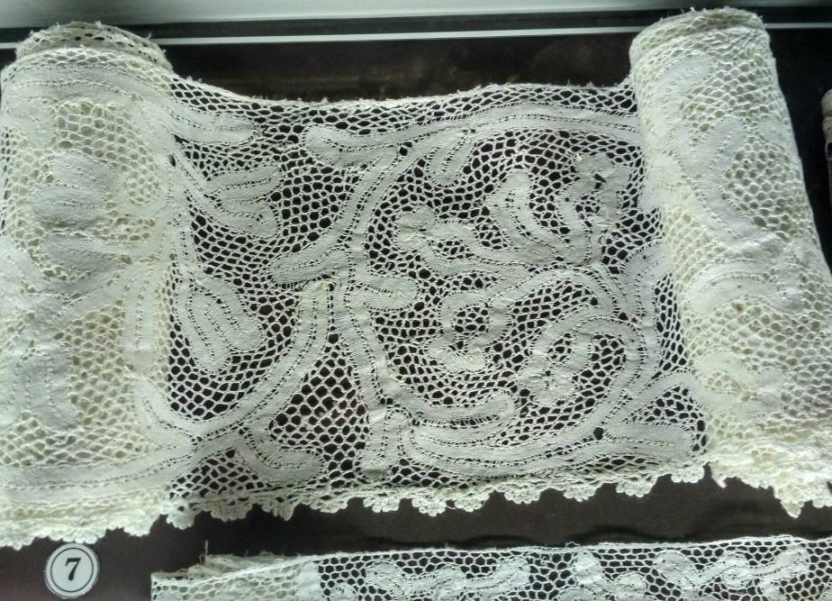Antique fabric lace (Rundale Palace Museum)