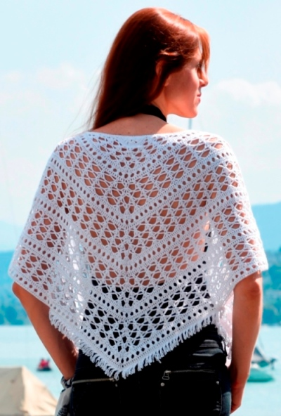 Crochet shrug PATTERN for sizes M-5XL, crochet TUTORIAL in English for every row