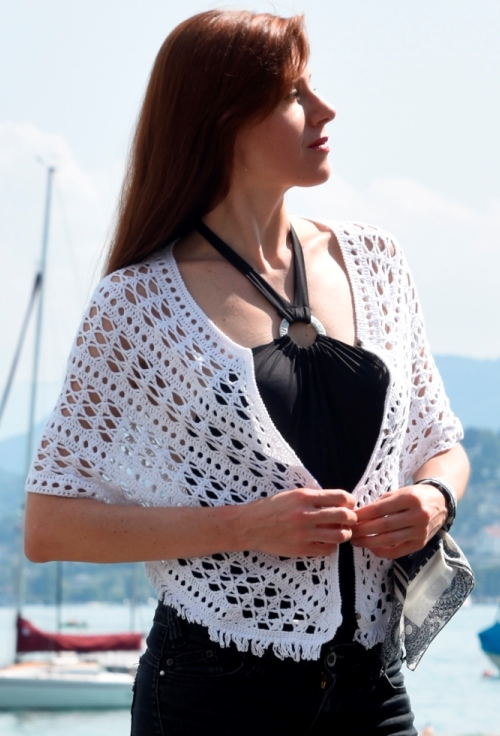 Crochet shrug – PATTERN