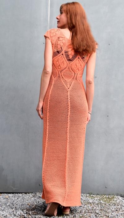 designer crochet dress PATTERN Eternal Sunshine Creations crochet dress Maxi crochet dress PATTERN detailed tutorial in ENGLISH every row