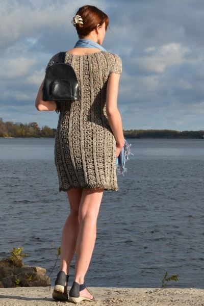 HOW to CROCHET dress in a few days - PATTERN