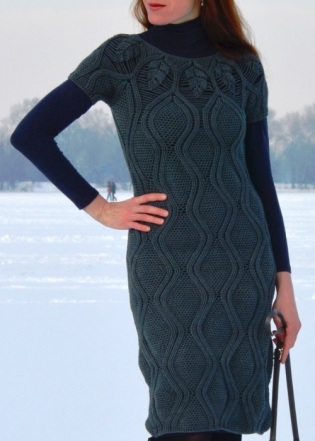 Sexy crochet dress PATTERN for sizes M-2XL, detailed crochet TUTORIAL in English (written + charted)