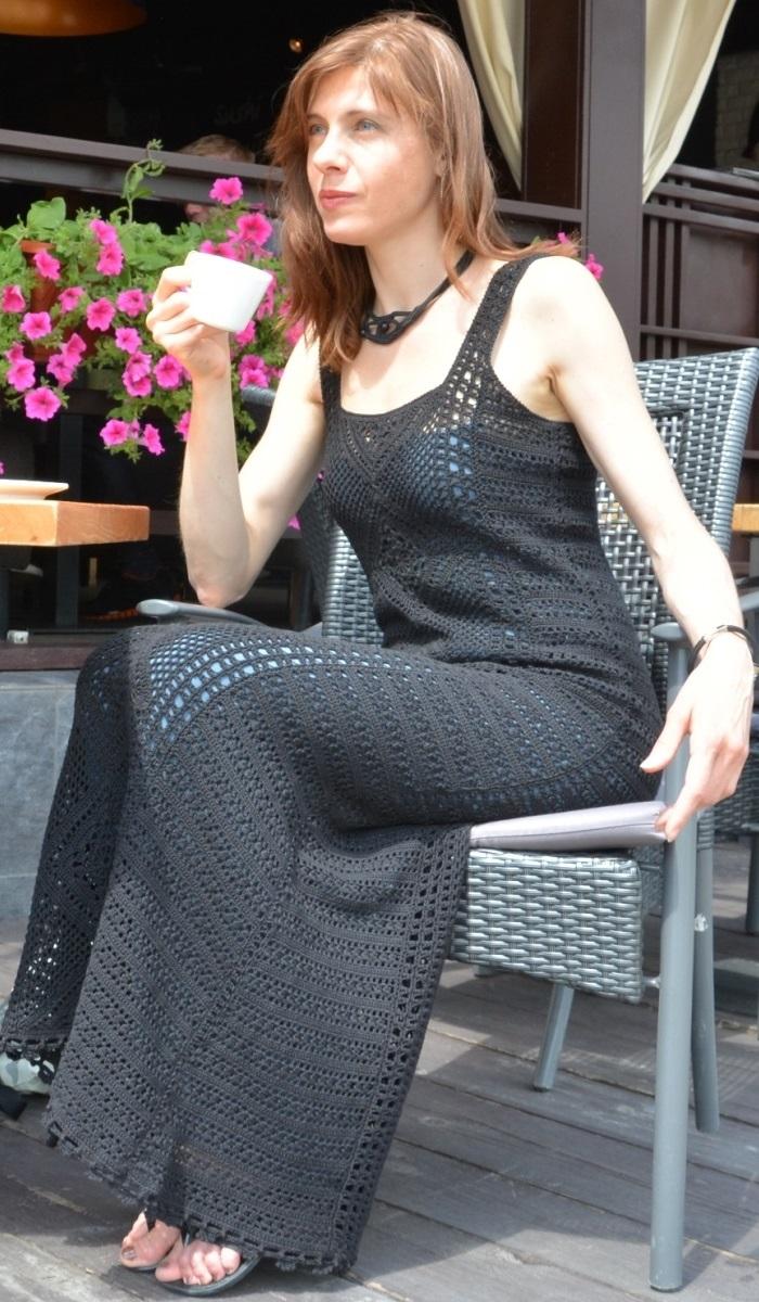 Intrinsic maxi crochet dress –PATTERN