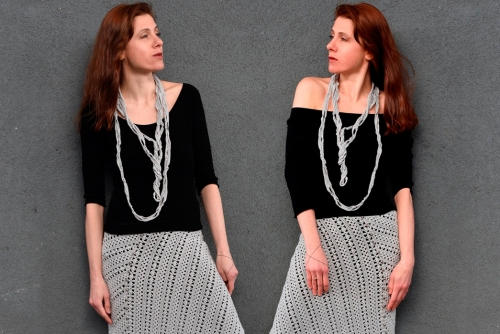 Free Crochet Pattern - Necklace TRANSCENDENTAL