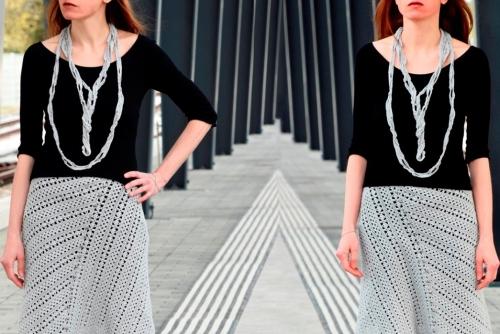 Free Crochet Pattern - Necklace TRANSCENDENTAL