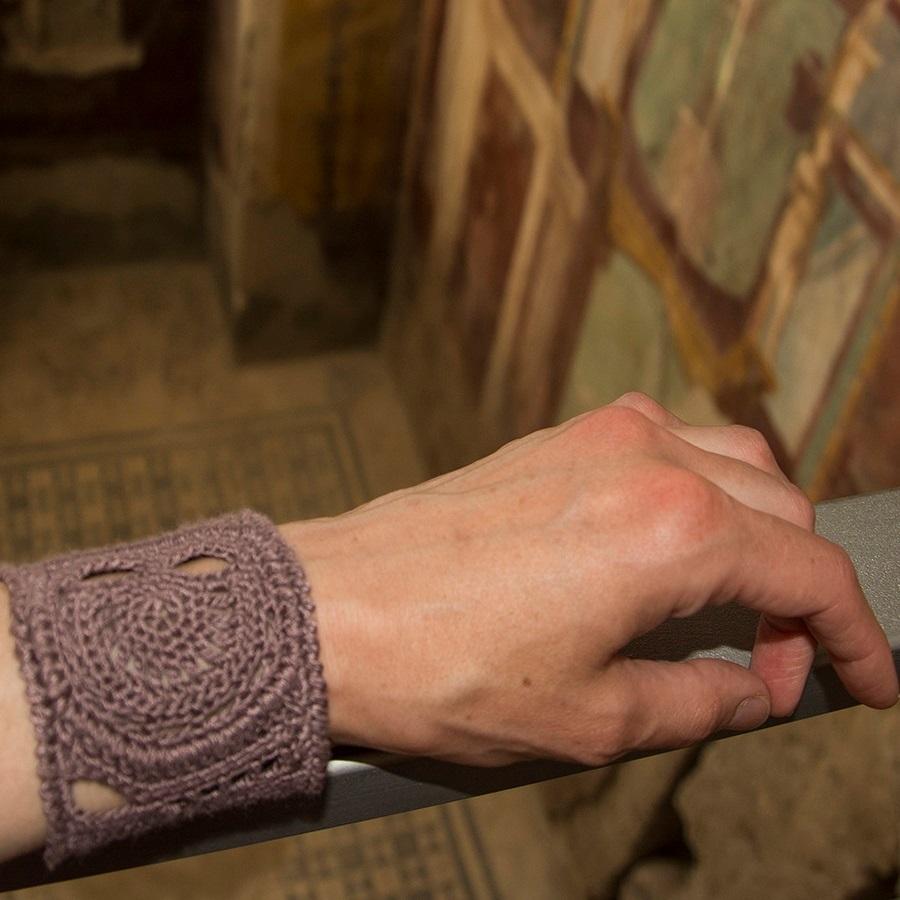 Inca-bracelet – FREE crochetpattern
