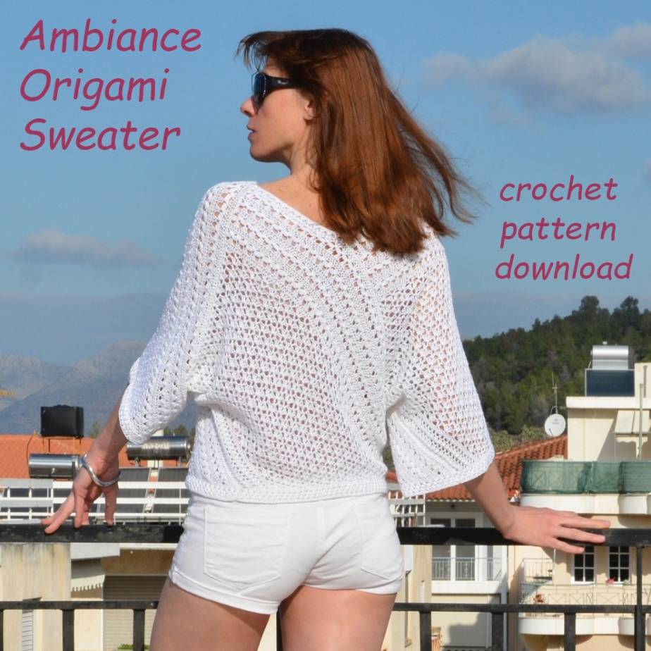 AMBIANCE ORIGAMI: Sweater Crochet Pattern – published!