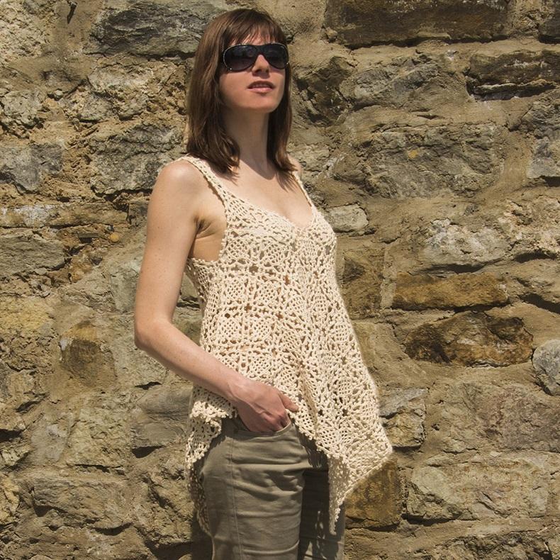 RHYTHMIC: Crochet TopPattern