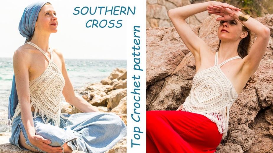 SOUTHERN CROSS Top Crochet pattern –published!