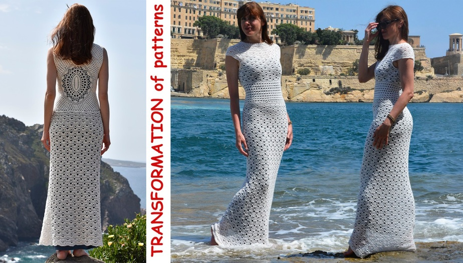 TRANSFORMATION of patterns: Dress, Top orSkirt?
