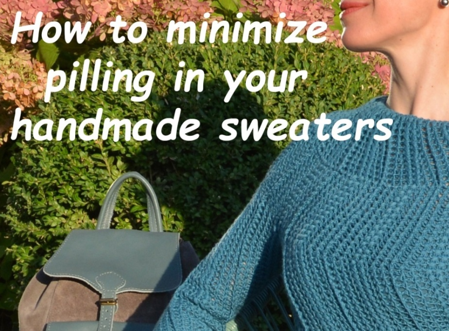How to minimize pilling in your handmade sweaters?