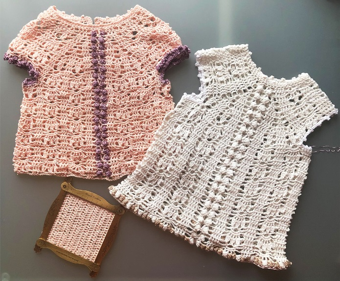 New Year's Dress-KIDS-Crochet DressPattern